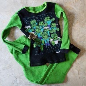 🌞 Minecraft Boys Pajama Set